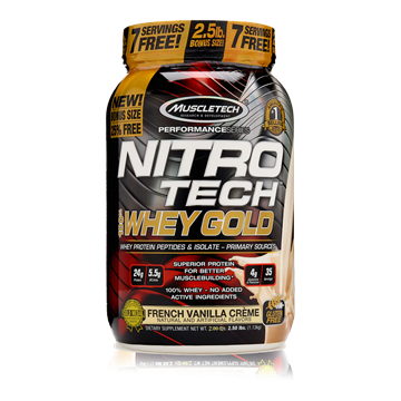 Picture of NITRO TECH 100% Whey Gold