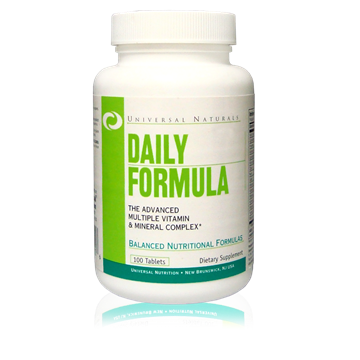 Picture of Daily Formula 100 tab