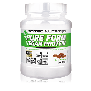 Picture of Pure Form Vegan Protein 450 gm