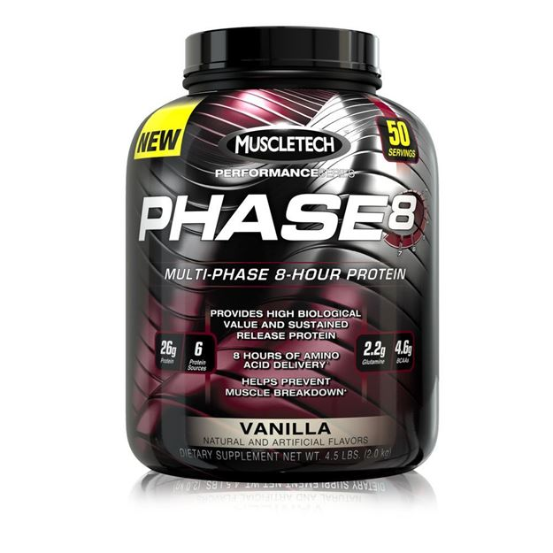Picture of Muscletech Multi Phase 8 Hour Protein 4.37 lb