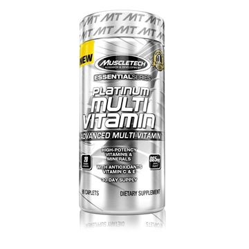 Picture of Muscletech Platinum Multi Vitamin 90 caps