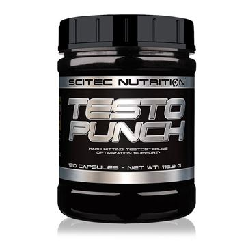 Picture of Scitec Testo Punch HC 120 Capsules