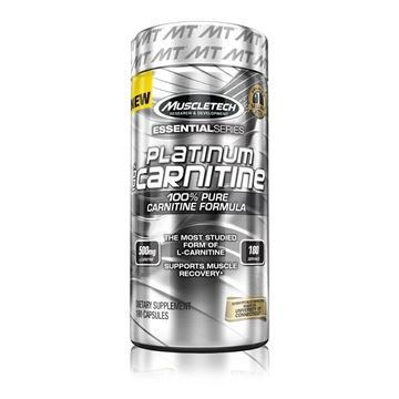 Picture of Muscletech Platinum 100% Carnitine 180 Capsules