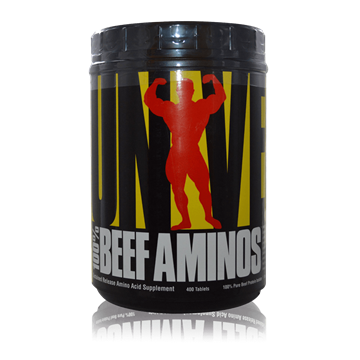 Picture of 100% Beef Amino 400 Tablets
